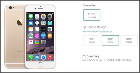 iphone 5 without contract what it ll cost you to get a no contract apple iphone 6 cnet 14624