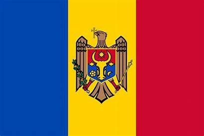 Moldova Flag Svg Flags Republic Wikimedia Moldovan