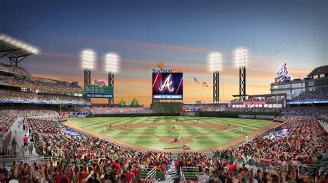"Ground Broken for New Home of the Braves Named ""SunTrust Park"""