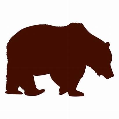 Bear Silhouette Polar Svg Transparent Oso Urso