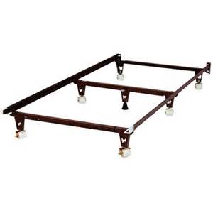 knickerbocker bed frame with rug rollers walmart com