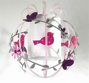 Lampe Chambre Fille : suspension oiseau pour chambre d 39 enfant luminaire enfant lampe casse noisette ~ Preciouscoupons.com Idées de Décoration
