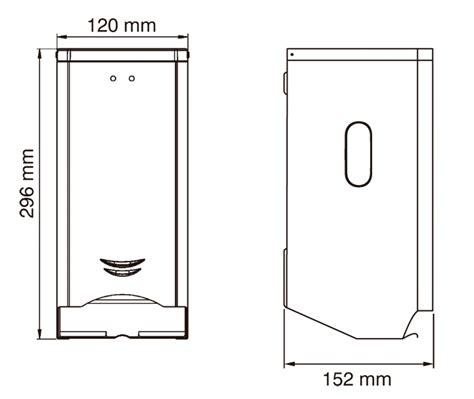 toilet paper sheet dimensions standard toilet paper dispenser pr2784cs mediclinics