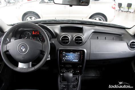 renault duster 2015 interior renault duster 2014 2015 precios en perú todoautos pe