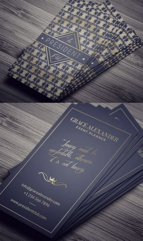 25+ Best Ideas About Luxury Business Cards On Pinterest