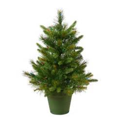 shop vickerman 2 ft 76 count pre lit artificial christmas tree with constant 50 white clear