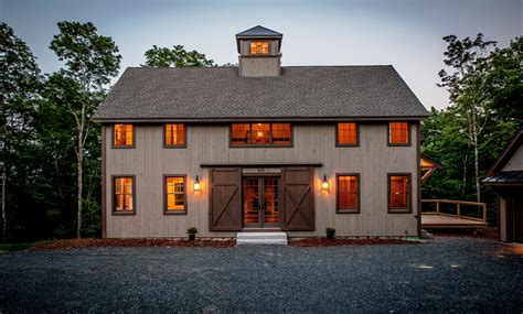 Barn Style Home Floor Plans by The Grantham Barn House Is Complete