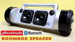 How To Make 50w Boombox Bluetooth Speaker At Home