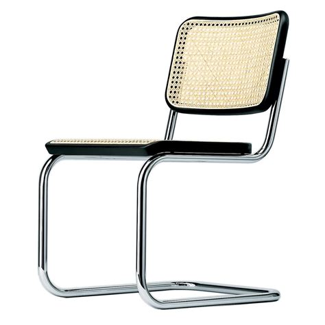 chaises thonet thonet s 32 chaise cantilever thonet ambientedirect com
