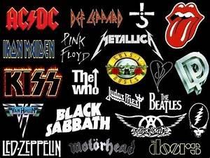 Rock Band Logos Drawing (HQ) YouTube
