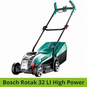 Bosch Rotak 43 Li Akku Rasenmäher : bosch rotak 32 li high power vergleich akku rasenm her ~ Eleganceandgraceweddings.com Haus und Dekorationen