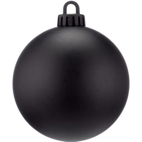 black christmas baubles matt baubles black dzd