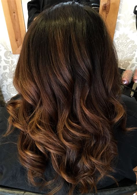 Brown Hair Black Hair by Chocolate And Chestnut Ombr 233 Up Do S Hair