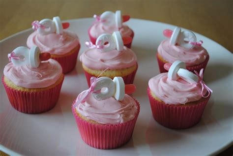 baby shower cupcakes with pacifiers juli jacklin s cupcakes pink pacifier cupcakes