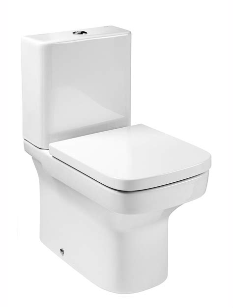 designer bathroom accessories roca dama n compact coupled wc pan with fixing 600mm