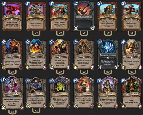 Warrior Decks Hearthstone Tgt by Deck Guerrier Grim Patron Tgt Houyon Hearthstone