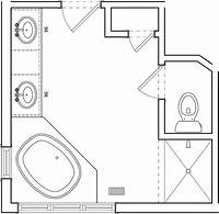 bathroom floor plan Master Bath Before Floor Plan | Flickr - Photo Sharing!