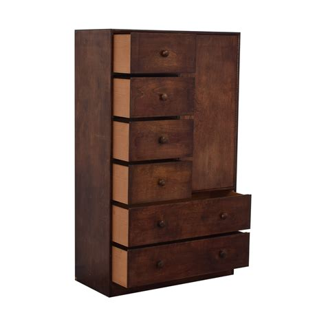 Buy Clothing Armoire by 45 Six Drawer And Shelving Clothing Armoire Or