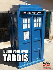 Build your own TARDIS! Woodworking for Mere Mortals