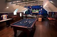 home game room 23+ Game Room Designs, Decorating Ideas   Design Trends - Premium PSD, Vector Downloads