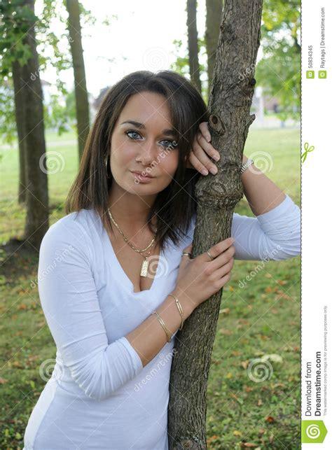 Beauté Italienne Image Stock Image Du Beau, Pose