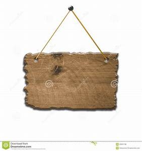 Old Broken Wooden Sign Royalty Free Stock Photos - Image