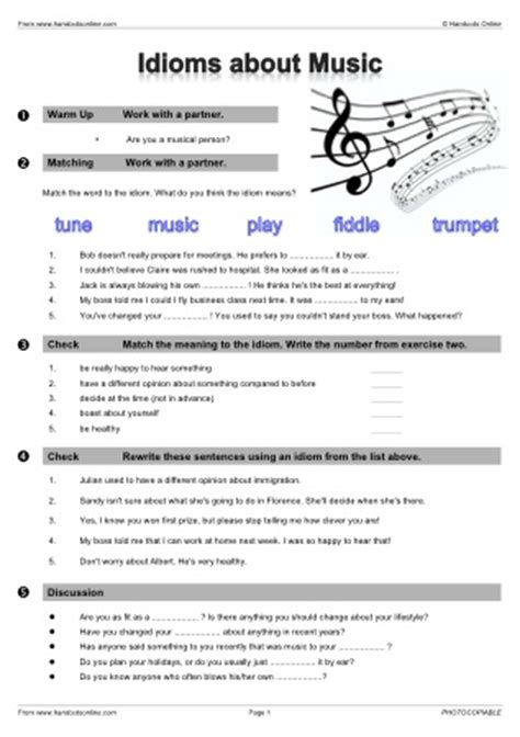 handouts  english worksheets activities  lesson