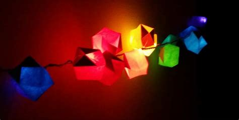 how to make paper lanterns with lights