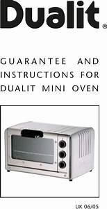 Dualit Mini Oven Uk 06 05 Users Manual Dualitleaflet0905v2