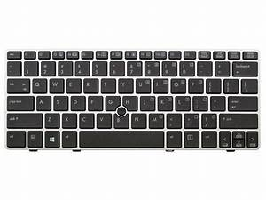 New Laptop Keyboard For Hp Elitebook 2560p 2570p Us Layout
