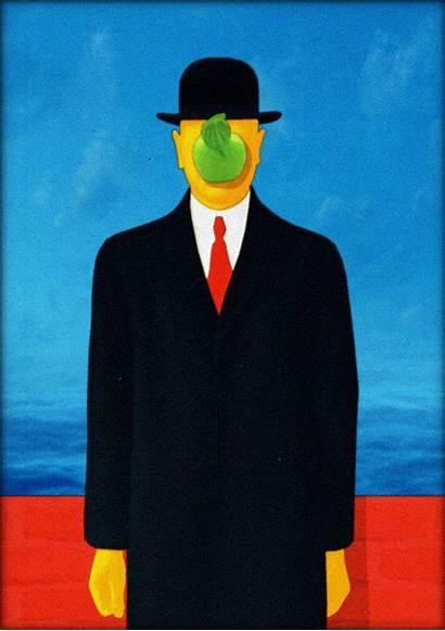 Magritte Martin Animated Surreal Rene Tribute Paintings