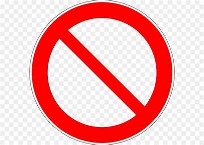 Symbol Forbidden Clip Circle Simbol Tanda Transparent