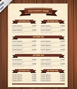 blank restaurant menu template word calendar template With templates for restaurant menus