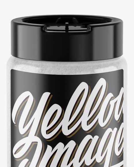Create your tray packaging mockup in seconds! Salt Jar Mockup - Salt Jar Mockup In Jar Mockups On Yellow ...