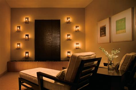 small apartment lighting ideas meditation room lighting with wall mounted candle for