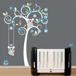 Chambre Gris Et Bleu : deco chambre garcon gris bleu ~ Melissatoandfro.com Idées de Décoration