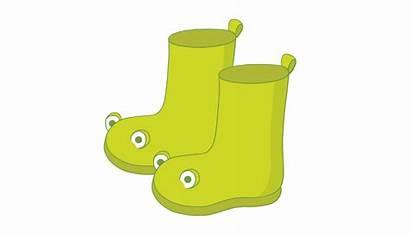 Rain Boots Flashcard Flash Card 4c