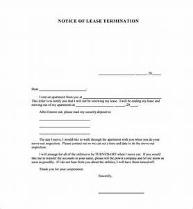cleaning service contract samples free 12 notice of cancellation letter templates in pdf