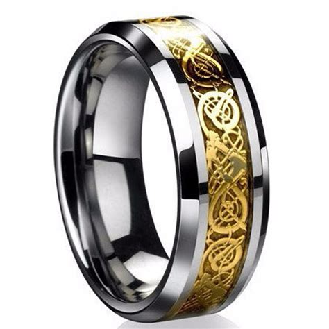 jewelry stainless steel ring mens jewelry wedding band ring for