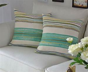 Cheap stripes pillow for the sofa chair cushion mat covers for Cheap european pillows