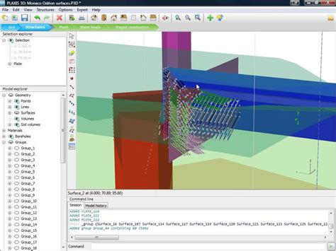 Plaxis Plaxis 3d Geotechical Software Demo