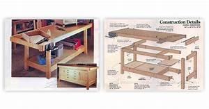 Heavy Duty Workbench Plans • WoodArchivist