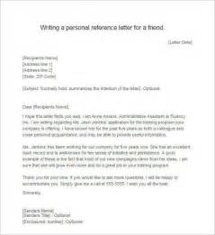 letter of recommendation for a friend recommendation letter template free word pdf format creative template