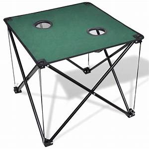 Table De Camping Pliante : la boutique en ligne table de camping pliante vert fonc ~ Dailycaller-alerts.com Idées de Décoration