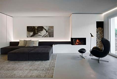schwarz weiss wohnzimmer design inspirierend und ideen