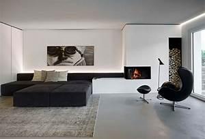 Wohnzimmer Ideen Modern : schwarz wei wohnzimmer design inspirierend und ideen ~ Michelbontemps.com Haus und Dekorationen