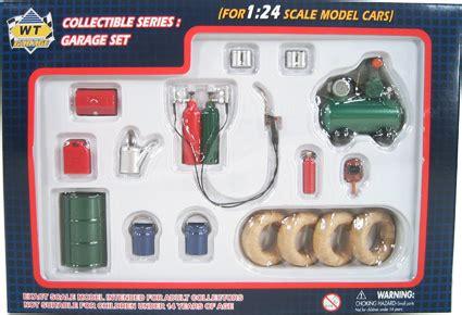 piece garage tools set wt garage  diecast car