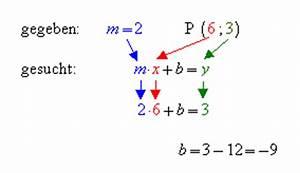 Funktionswert Berechnen : die gesuchte geradengleichung lautet also ~ Themetempest.com Abrechnung