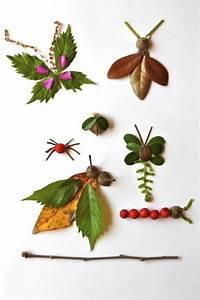 Aus Blättern Basteln : 1001 tolle ideen zum thema basteln mit bl ttern ~ Lizthompson.info Haus und Dekorationen