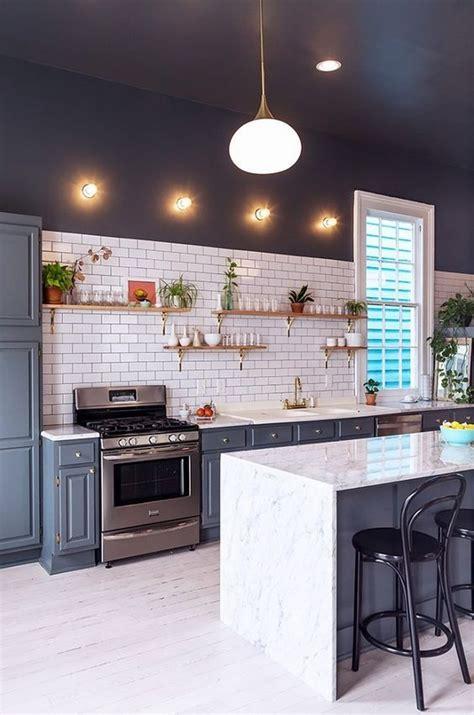 minimalist kitchen island 12 beautiful simple and minimalist kitchen designs 4143